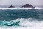 Cornish Storms At Cape Cornwall