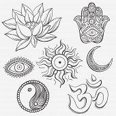 picture of jainism  - Spiritual symbols - JPG