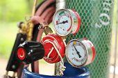 Welding Gas Cylinder Pressure Gauge