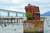 Old Seafood Cannery Remains