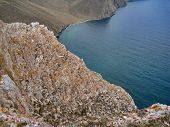 The Nature Of Lake Baikal. Views Of The Lake