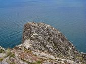 stock photo of promontory  - The Nature Of Lake Baikal - JPG