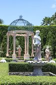 Chonburi Thailand-august11:beautiful Decoration European Garden Style In Saun Nongnuch Park Importan