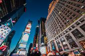 NEW YORK, USA - DECEMBER 20, 2013: Times Square in Downtown Manhattan