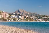 Coastline at Malaga
