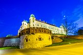 Wawel Hill By Night - Krakow