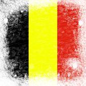 Belgium Flag Copyspace Represents Patriotism
