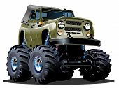 foto of  jeep  - Cartoon Monster Truck - JPG