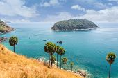 stock photo of sea-scape  - Sea scape at Island Phuket in southern Thailand - JPG