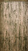 Old wooden planks with peeled withered paint texture.