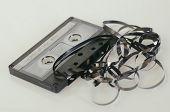 Cassette tape music nostalgia concept image