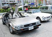DeLorean vintage car
