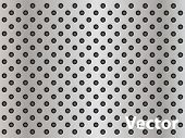 Vector eps concept conceptual gray metal stainless steel aluminum perforated pattern texture mesh ba