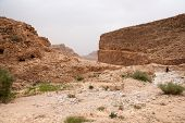 Adventure Travel In Stone Desert Of Middle East