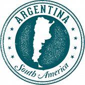 Argentina South America Stamp