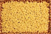 Dinner Tray With Farfalle Noodles