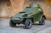 Russia, Nizhny Novgorod - Aug 06, 2014: Armored Car Ba-64 World War II
