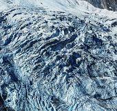 Adishi Glacier in Georgia