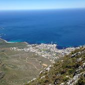 Hout Bay from the top of Table Mountain