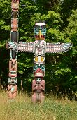 Thunderbird Totem pole at Stanley Park