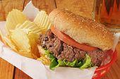 Thick Hamburger