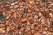 Crushed Building bricks