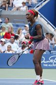 Sixteen times Grand Slam champion Serena Williams at Billie Jean King National Tennis Center during