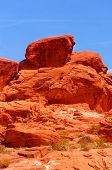 foto of valley fire  - Valley of fire State park in Nevada - JPG