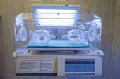 Infant Incubator In A Hospital Ward