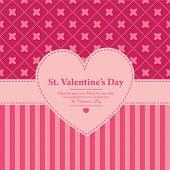 vector valentine's frame
