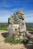 stock photo of swabian  - The Camererstein on the Rutschenfelsen - JPG