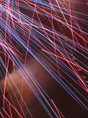 lines of the fireworks