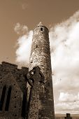Sepia Rock Of Cashel
