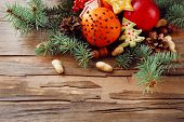 picture of hazelnut tree  - Fruits with cookies - JPG