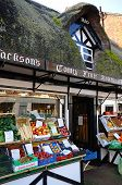 Thatched fruit and veg shop, Stafford.
