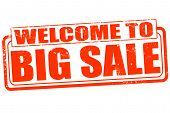 Welcome To Big Sale Stamp