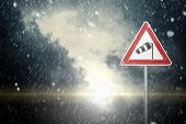 picture of hurricane wind  - bad weather  - JPG