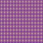 Golden Star Of David Seamless Background Pattern