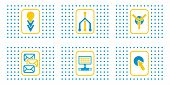 Set Of Abstract Web Icons