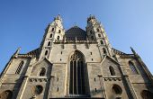 VIENNA, AUSTRIA - OCTOBER 10: St. Stephan cathedral in center of Vienna, Austria on October 10, 2014