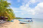 Boat at the beach, Panama