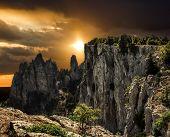 The Top Of Mount Ai-petri In Crimea
