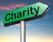 charity money or gift donation , donate and give for a good cause help the poor and needy