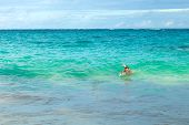 Bermuda Beach Swimmer