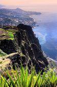 Costa sul da ilha da Madeira