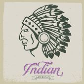image of indian culture  - Native American Indian - JPG