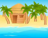 picture of beach-house  - Tropical summer - JPG