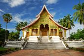 Temple In Luang Prabang Museum, Laos