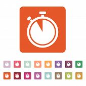 picture of countdown  - The stopwatch icon - JPG