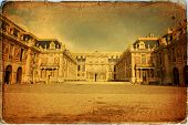 pic of versaille  - Outside view of Famous palace Versailles - JPG
